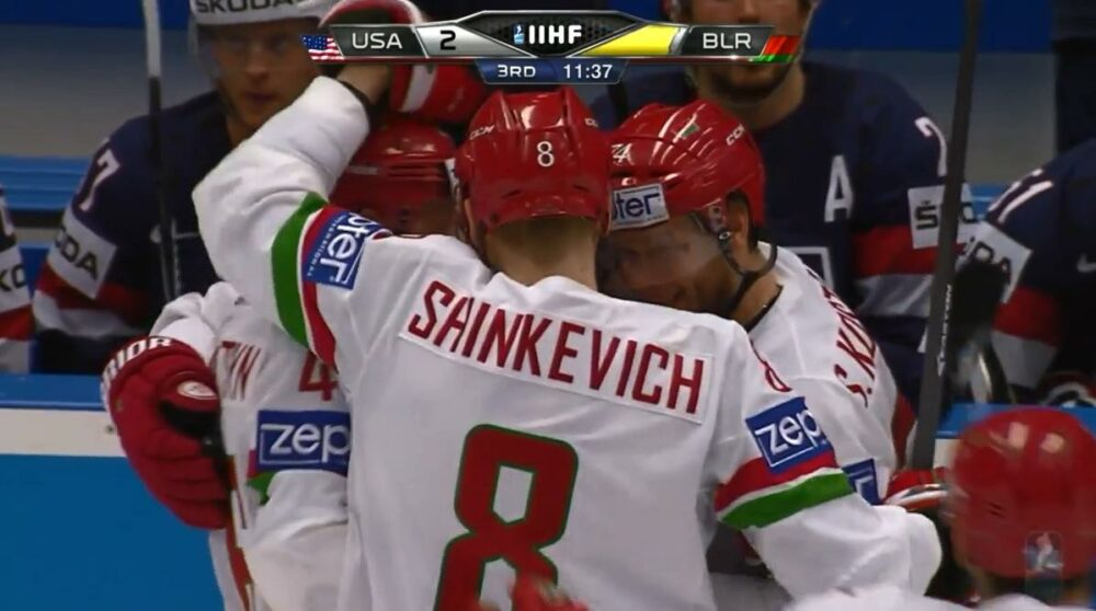Bělorusko je bez hokejového mistrovství světa!