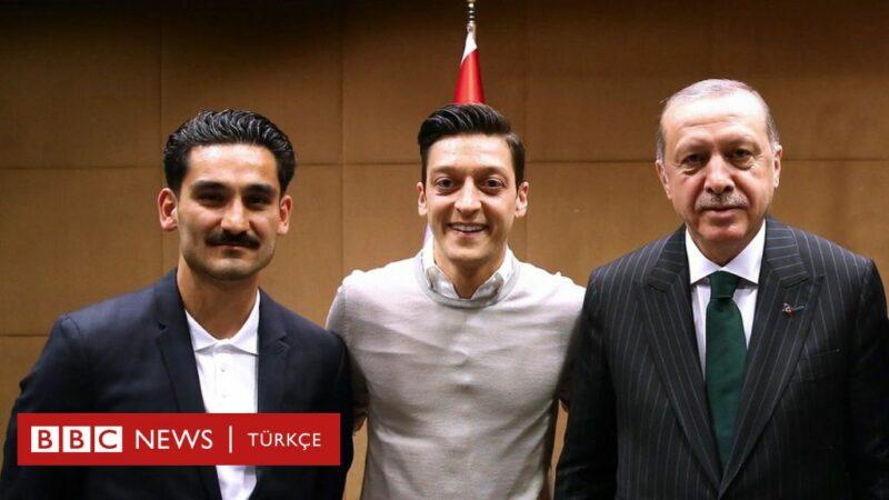Mesut Özil a turecký prezident Erdogan.
