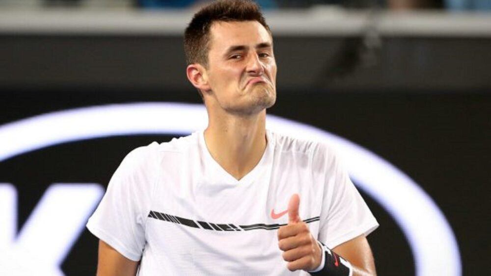 Australský tenista Bernard Tomic. Zdroj: perfecttennis.com