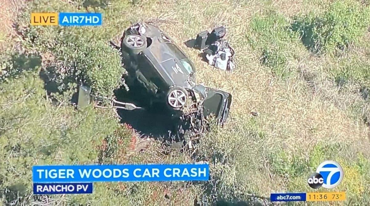 HOROROVÁ nehoda golfisty Tigera Woodse! Je na operaci s vážnými zraněními!