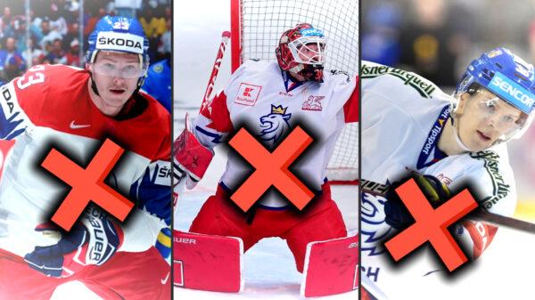 Omluvenky, omluvenky, omluvenky! Češi z KHL, kteří se na MS neobjeví!