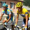 Rivalové Alberto Contador a Andy Schleck. Zdroj:cyclingweekly.com