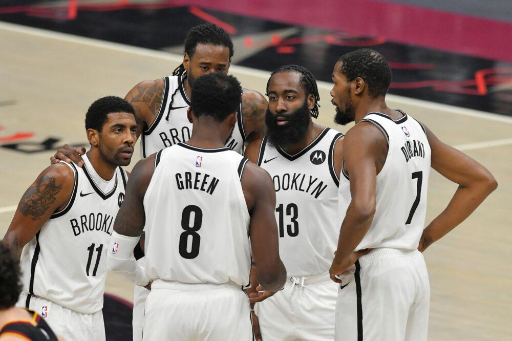 Tým hvězd z Brooklynu Nets. Zdroj: nothinbutnets.com