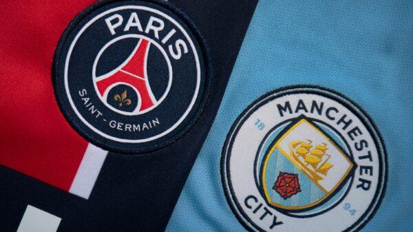 Tahákem semifinálové programu Ligy mistrů bude souboj mezi PSG a Manchesterem City. Zdroj:skysports.com