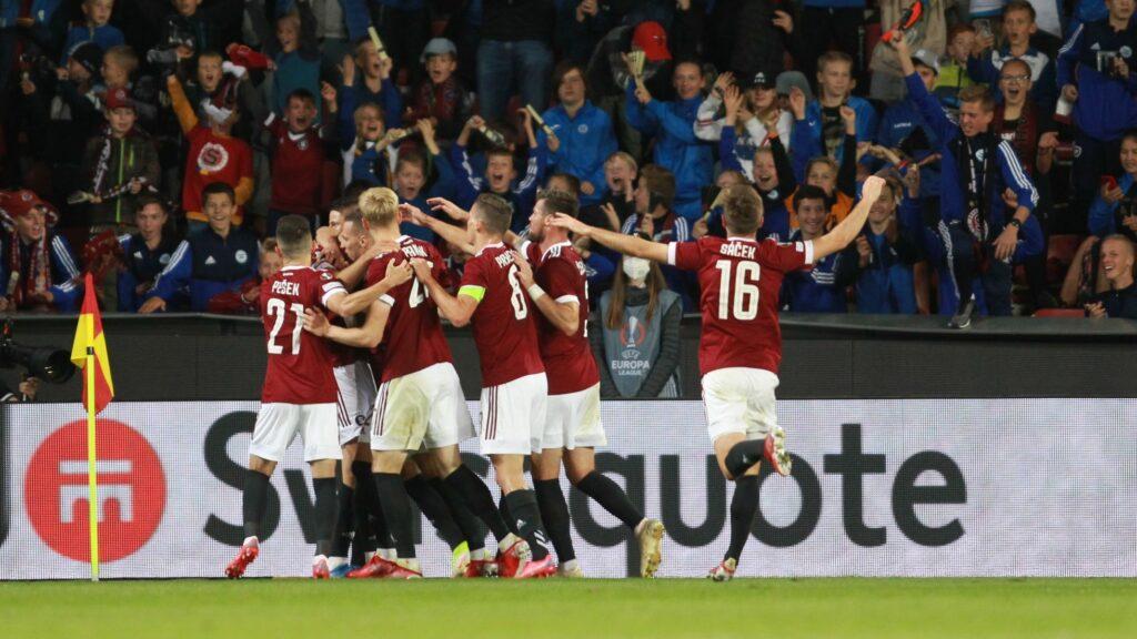 V domácím utkání se dnes Sparta utká s francouzským Lyonem. Zdroj:sport.aktualne.cz